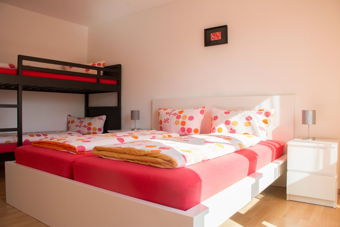 Ferienwohnung Barbara Rust Schlafzimmer